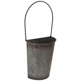 Bucket Metal Wall Planter