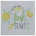 Fresh Start Lemons Metal Wall Decor