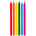 Bright Long Birthday Candles