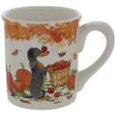 Dog With Scarf Mug