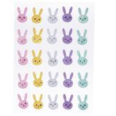Pastel Bunny Felt Stickers