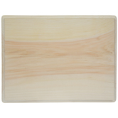 "Rectangle Wood Plaque - 9"" x 12"""