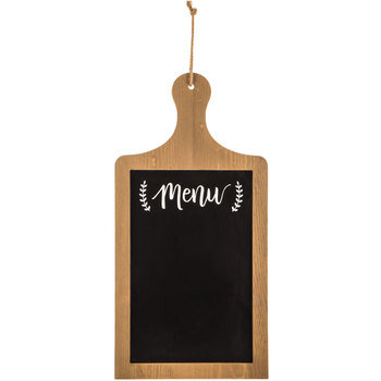 Menu Paddle Wood Wall Decor