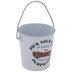 Pick Your Own Pumpkins Truck Tin Bucket