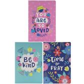 Bright Floral Prayer Journals