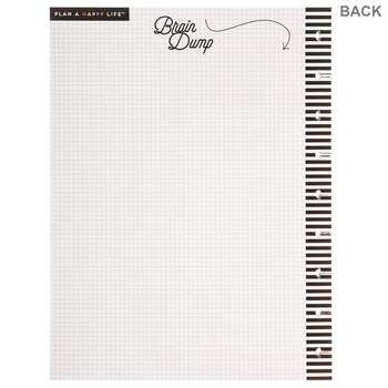 Happy Planner Daily Fill Paper