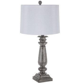 Gray Distressed Lamp