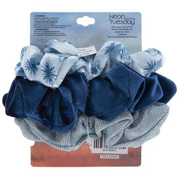 Blue Frozen Scrunchies
