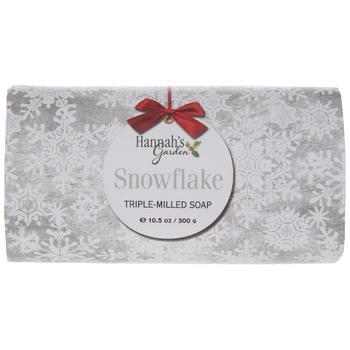 Snowflake Triple Milled Soap
