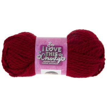 I Love This Chunky Yarn