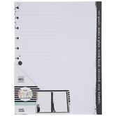 Black & White Big Happy Planner Paper