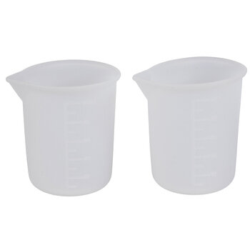 Silicone Resin Measuring Cups