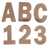 Rose Gold Foil Alphabet Stickers