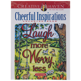 Cheerful Inspirations Coloring Book