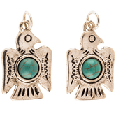 Thunderbird Charms With Cabochon