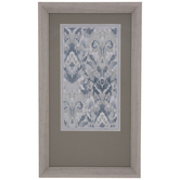 Abstract Watercolor Framed Wall Decor