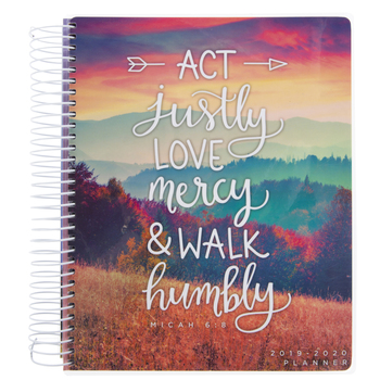 July 2019 - December 2020 Act Justly Planner