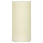 Vanilla LED Wax Pillar Candle