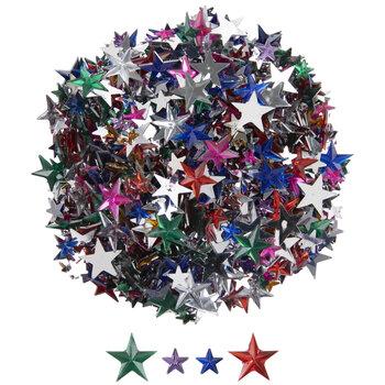 Multi-Color Star Rhinestones