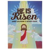 He Is Risen Jumbo Coloring & Activity Book