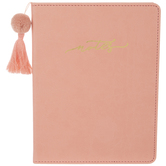 Peach Notes Tassel Journal