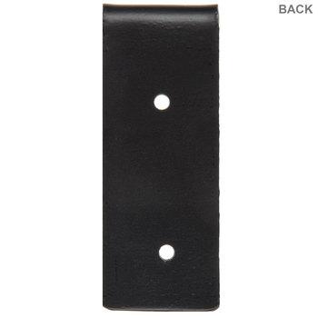 Black Flat Metal Bracket - Small