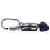 Heart & Leaf Carabiner Clasp Pendant