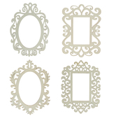 Ornate Wood Photo Frames