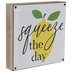 Squeeze The Day Metal Wall Decor
