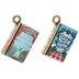 Alice In Wonderland Book Charms