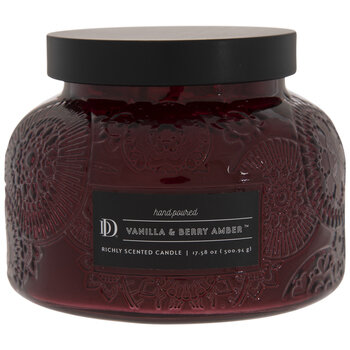 Vanilla & Berry Amber Jar Candle