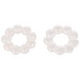 Acrylic Pearl Rings - 12mm