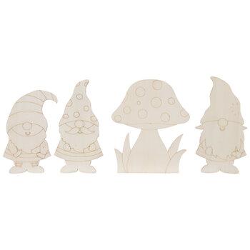 Gnome Wood Shapes