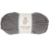 Dark Gray Yarn Bee Soft & Sleek Yarn
