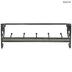 Galvanized Scroll Metal Wall Shelf