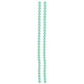 Seafoam Czech Glass Pearl Bead Strands - 6mm