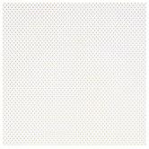 """White & Gold Tiny Polka Dot Scrapbook Paper - 12"""" x 12"""""""