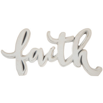 White Faith Decor