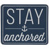Stay Anchored Wood Decor