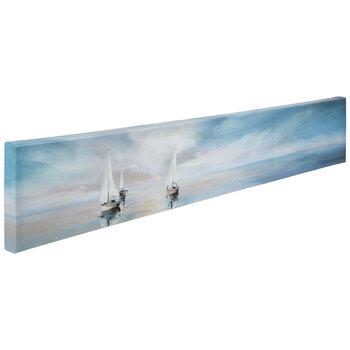 Sailing Sunrise Canvas Wall Decor