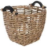 Herringbone Wicker Basket