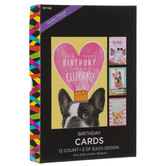 Cats & Dogs Birthday Cards