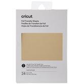 Gold Cricut Foil Transfer Sheets