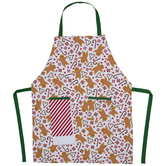 Gingerbread & Peppermint Apron