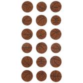 Basketball Glitter Stickers