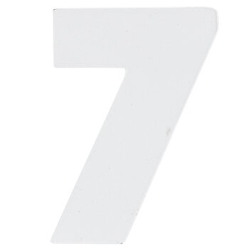 """White Wood Numbers 7 - 2"""""""