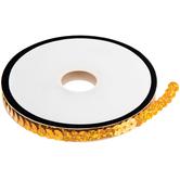 "Holographic Gold Slung Sequin Trim - 1/4"""