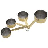 Gold Metal Measuring Cups