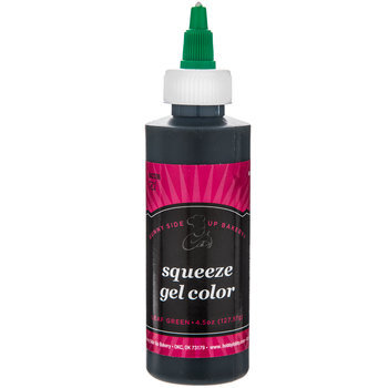 Leaf Green Squeeze Gel Color -  4.5 Ounce