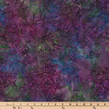 Lush Rainforest Batik Cotton Calico Fabric